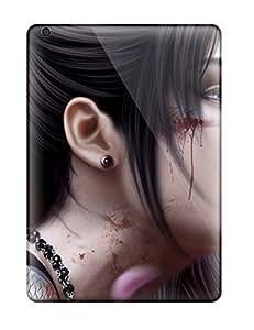Awesome Design Female Samurai Hard Case Cover For Ipad Air