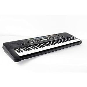Yamaha psr e253 61 key portable keyboard level for Yamaha keyboard amazon