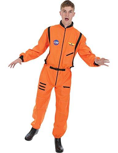 Adult Men's Orange Astronaut Fancy Dress Costume Extra Large (Travestimenti Halloween Film)