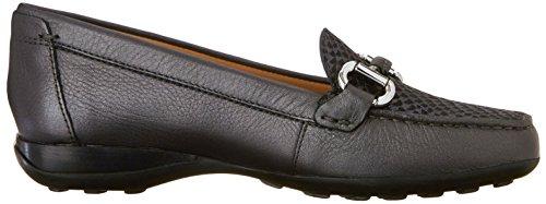 c999 Femme Geox Euxo Noir loafers Donna Mocassins 8w8P67Ynq