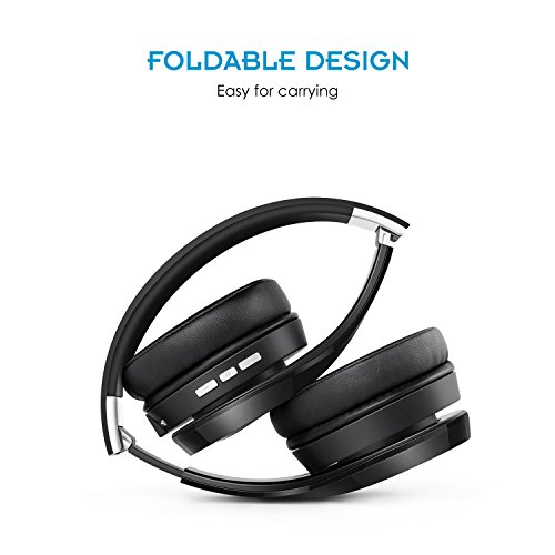 8cf254f4a07 Nubwo S1 Bluetooth Wireless Over-ear Stereo Headphones: Amazon.co.uk:  Electronics