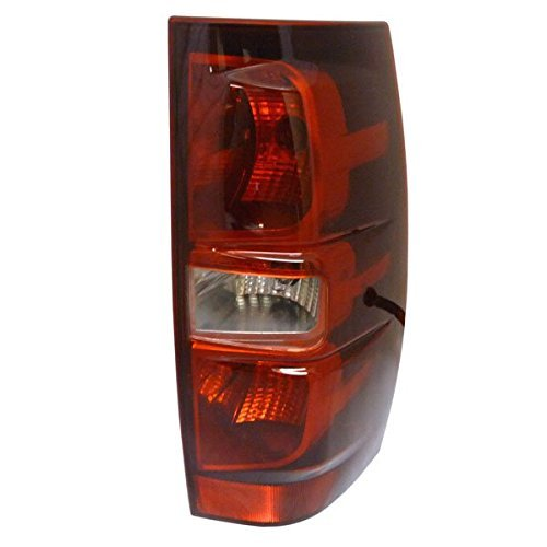 Replacement GM2801196 Passenger Side Tail Light for 2007-2013 Chevy/Chevrolet Suburban 1500 2500 Tahoe (Excluding Hybrid -