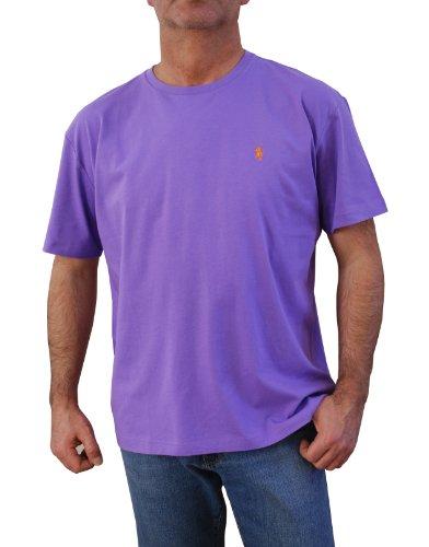 Polo Ralph Lauren Herren Rundhals Shirt T-Shirt Hampton Hampton Purple Größe L