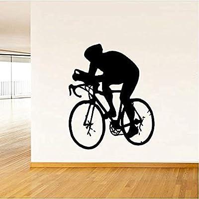 Calcomanía Etiqueta De La Pared Pegatina Bicicleta Pvc Sala De ...