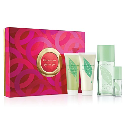 Green Tea By Elizabeth Arden - Elizabeth Arden Green Tea 4 Piece Value Fragrance Set