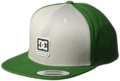 DC Men's SNAPDRAGGER Trucker HAT, Hunter Green 1SZ -
