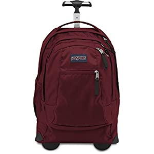 JanSport Driver 8 TN89 Wheeled Laptop Backpack (Viking_Red)