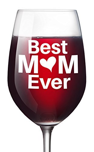 best mom ever wine glass christmas gift for moms mothers day 16 oz unique birthday - Best Christmas Gift For Mom