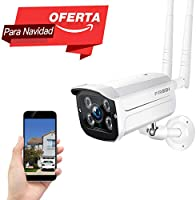 FREDI 720P WiFi Wireless IP Security Cámara Bala