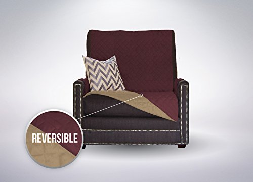 The Original SOFA SHIELD Reversible Furniture Protector, Features Elastic Strap (Chair: (Plastic Slipcover)