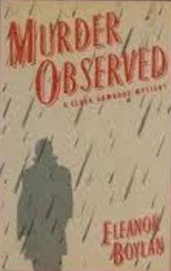 book cover of Murder Observed