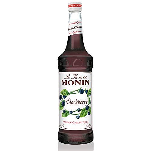 Monin - Blackberry Syrup, Soft and Succulent, Great for Cocktails, Lemonades, and Sodas, Gluten-Free, Vegan, Non-GMO (750 - Blackberry Monin
