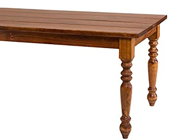 turned leg dining table. French Country Turned Leg Solid Wood Dining Table (72\u0026quot; X 37\u0026quot;, Midnight