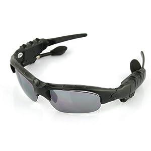 Sunglasses Camera Sport Glasses, eTTgear 4 in 1 MP3 Player Video Recorder Camcorder Sunglasses Support Micro SD Card HD DVR Built-in Memory