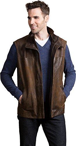Distressed Lambskin Leather - 1