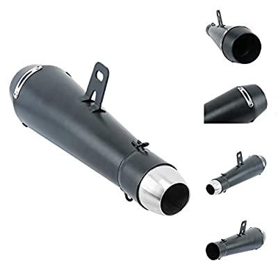 YaeGarden 340mm(13.39in) Universal Slip-On Exhaust Muffler Slip-On Pipe Kit 38-51MM Pipe: Automotive