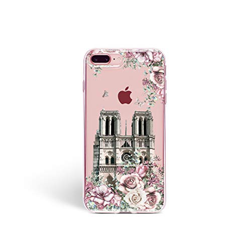 Notre Dame Silicone Case for iPhone 4 4S Paris Protective Back Cover Soft TPU Gel Flexible Rubber (Notre Dame Iphone 4 Case)