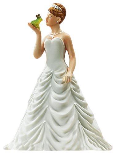 Frog Prince Cake - Weddingstar Princess Bride Kissing Frog Prince Figurine