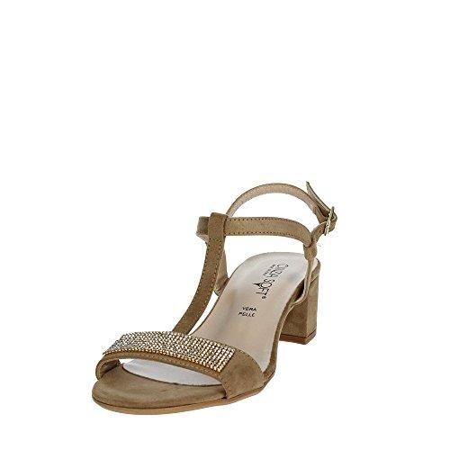 005 Soft Il68583 Marron c Taupe Sandale Cinzia Femme 1PtnqWHt4