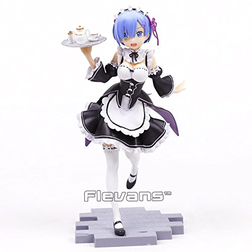 Re:Life in a different world from zero Rem 1/7 Scale PVC Figure Collectible Model Toy 22cm