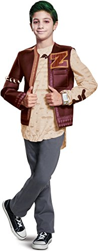 Disguise Zed Zombie Deluxe Child Costume, Red, Large/(10-12) -