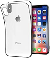 iPhone X Case, iPhone XS Case, Angelcare Crystal Clear Sof TPU Bumper, Shock Absorbtion, Scratch Resistant, Super Thin
