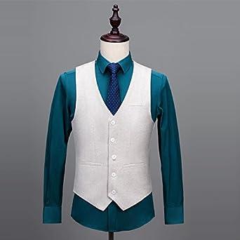 Mens Premium Wool Blend Tweed Herringbone Slim Fit Wedding Tuxedo Waistcoat Suits Vest