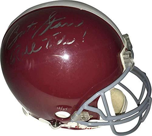 Bart Starr Signed Autographed Roll Tide PROLINE Helmet Beckett BAS - Beckett Authentication - Autographed College Helmets