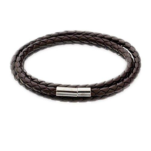Welcomeuni Fashion Leather Bracelets Handmade