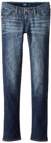 Levi's Girls' 711 Skinny Fit Jeans, Lightscape, 10 Slim by Levi's