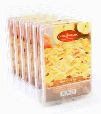 Warm Apple Pie - Candle Warmers Hot Apple Pie Case of 6 5 oz Wax Melts