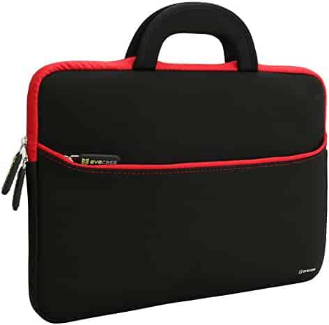 4fb297c4c3 Laptop Sleeve Evecase 13.3-14 inch Slim Neoprene Carrying Laptop Sleeve  Pouch Case Bag w