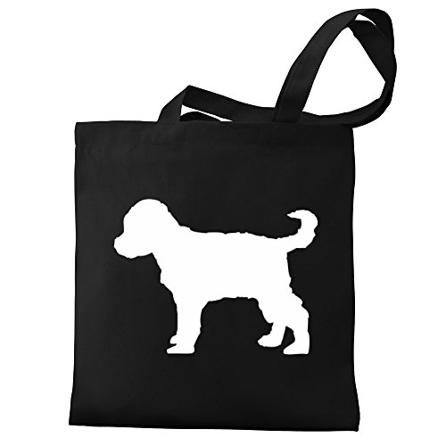 silhouette Bag Canvas Schnoodle Tote Eddany Eddany Schnoodle qOPwzxH