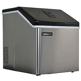 Luma Comfort IM200SS Portable Clear Ice Maker, 28-Pound