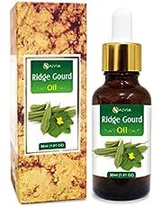Ridge Gourd (Lufa Acutangula) Carrier Oil 100% Pure & Natural - Undiluted Uncut Cold Pressed Oil - 15ml