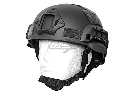 Lancer Tactical MICH 2002 SF Helmet (Black) by Lancer Tactical