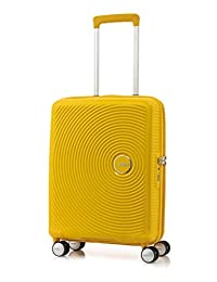 American Tourister Curio Spinner Carry-On, Golden Yellow, International Carry-On (Model: 86228-1371)