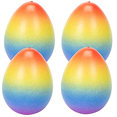 Surprise Growing Unicorn Hatching Rainbow Egg Kids Toys, Assorted Colors (4, Rainbow) : Baby