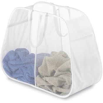 Berry Blue Whitmor 6926-986-BRYBL Pop and Fold Laundry Sorter