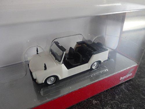 Pearl White HERPA 024808-003 Trabant K/übel Model Set