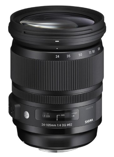 Sigma 24-105mm f/4 DG OS HSM Lens for Canon DSLR Cameras by Sigma