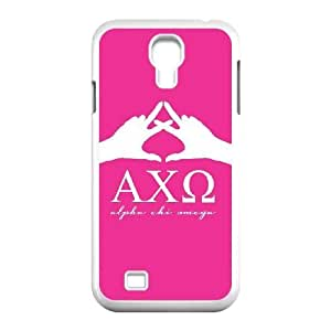 Alpha Chi Omega Pink Sign Samsung Galaxy S4 9500 Cell Phone Case White Exquisite gift (SA_600883)