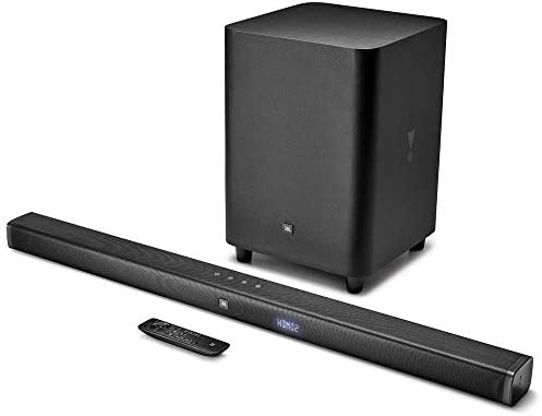 JBL BAR 3 1-Channel 4K Ultra HD Soundbar with Wireless Subwoofer
