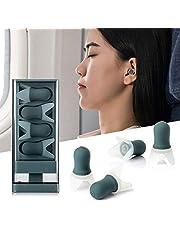 Roeam Kulak tıkacı, uyku, gürültü önleyici kulak tıkacı, yıkanabilir, tekrar kullanılabilir, uyku için saklama çantası ile, yüzme, uçuş
