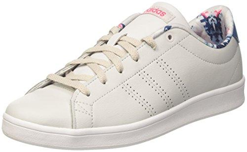 One da Pink Scarpe W Advantage Super Beige Tennis adidas Donna QT Cl Grey q6wvf
