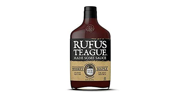 Rufus Teague Whiskey Maple Sauce - 453g (16 oz): Amazon.es: Alimentación y bebidas