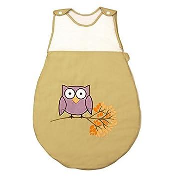 Saco de Dormir de Bebé modelo Búho de Petit Chat (talla 0-6 meses): Amazon.es: Bebé