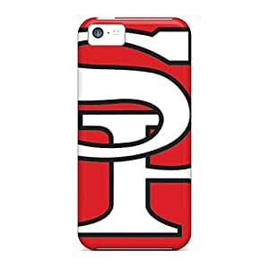 Protective Hard Cell-phone Cases For Iphone 5c With Provide Private Custom Vivid San Francisco 49ers Pictures AlissaDubois