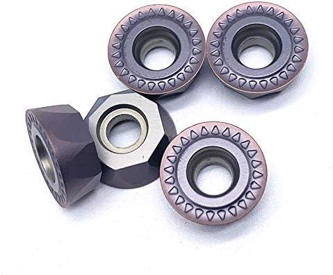 WITHOUT BRAND 10pcs RPMT 1606 Carbide RPMT1606MOE VP15TF CNC-Drehmaschine Werkzeug Drehen Verschleißwerkzeug Widerstand Hohe Qualität