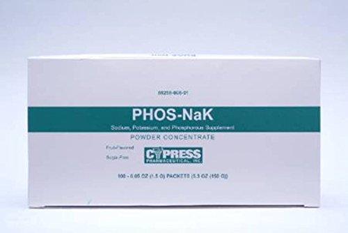 Cypress Pharmaceutical Inc Phos-Nak Powder - 100/box - Qty of 100 - Model ()